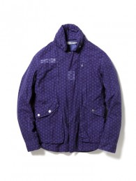 nonnative - Driver Jacket - Cotton Ripstop by LIBERTY Overdyed