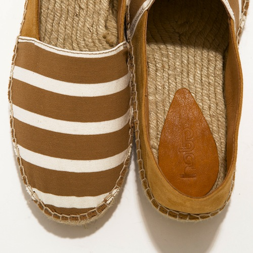 hobo - Cotton Border Espadrille with Cow Leather