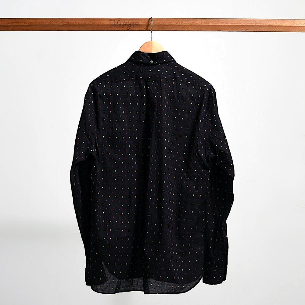 The Stylist Japan - Color Dobby Black Shirts