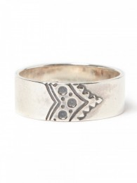 "Dwelle Ring ""BROGUE"" 925 Silver by END"