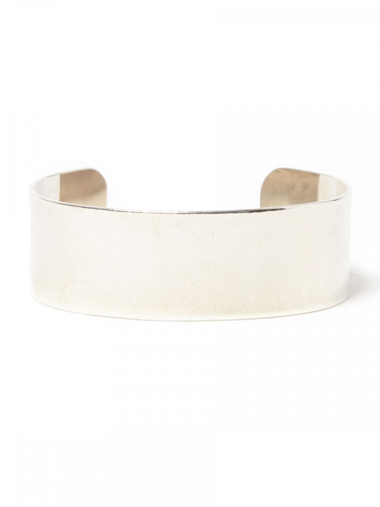"nonnative - Dwelle Bangle ""BROGUE"" 925 Silver by END"
