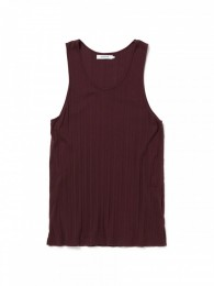 nonnative - Dweller Tank Top Cotton Random Rib Overdyed
