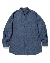 Crazy Pattern Chambray Shirt