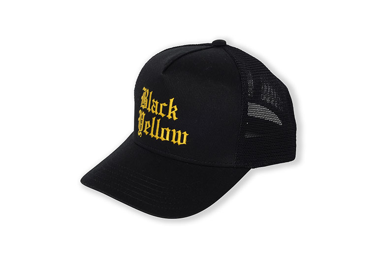 RATS - Black Yellow Twill Mesh CAP