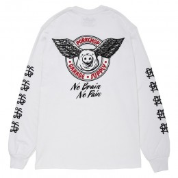 PORKCHOP GARAGE SUPPLY - Wing Pork L/S TEE / WHITE