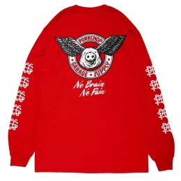 Wing Pork L/S TEE / RED
