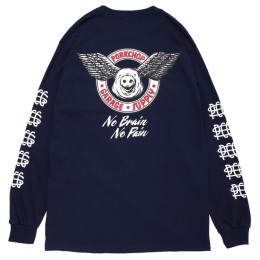 Wing Pork L/S TEE / NAVY