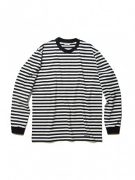 Solid Border L/S Tee