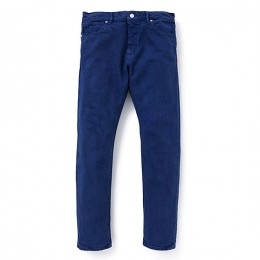 "Tapered Fit Color Denim Pants Garment Dye""CHARLS"""