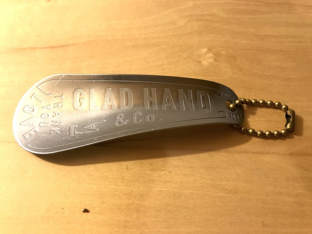 GLAD HAND & Co. - GH Shoe Horn - THANK YOU LOVE