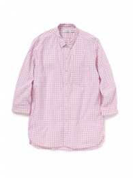 Dweller B.D Shirt Q/S Cotton Gingham Check