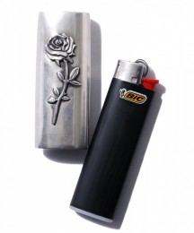 "BEDWIN - Silver Lighter Case ""MUIR"""