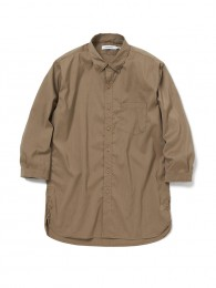 Dweller B.D. Shirt QS P/L/P Poplin Stretch