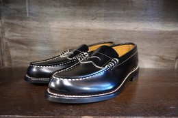 Glad Hand x Regal Coin Loafers Shoes / BLACK