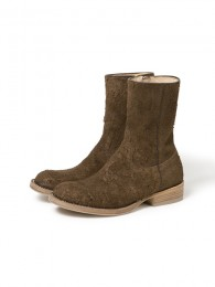 nonnative - Rancher Zip Up Boots CowSuede by OFFICINE CREATIVE