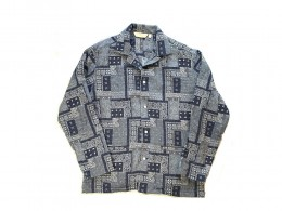 Sasiko Shirt Jacket / PATCH WORK