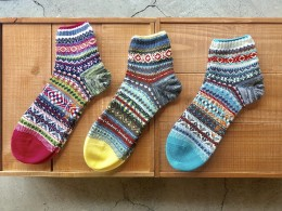 Multi Color Ankle Socks