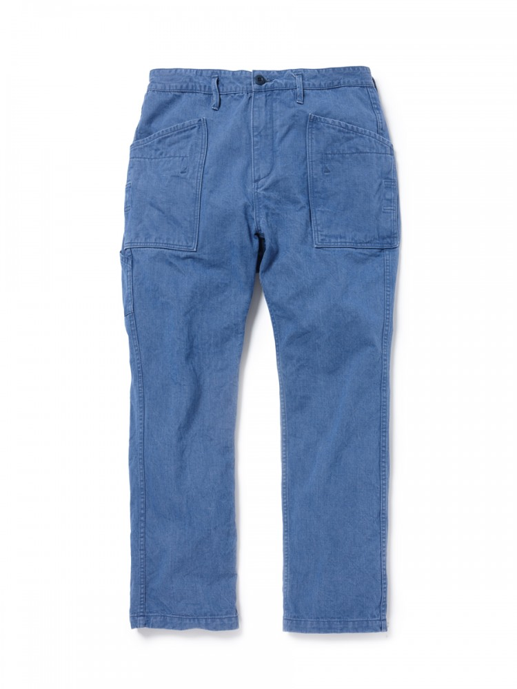 nonnative - Gardener Trousers Relax Fit Cotton Chino Denim