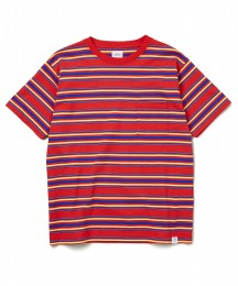 "S/S C-Neck Border Tee ""EARNIE"""
