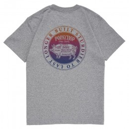 Circle Pork Back TEE / GRAY