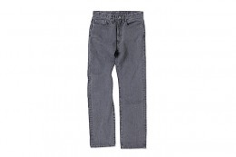 Black Stone Wash Denim PNT
