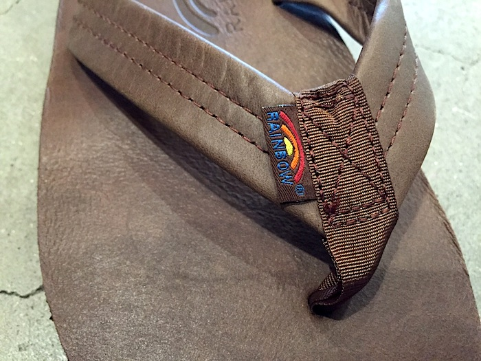 STANDARD CALIFORNIA - Rainbow Sandal Classic Leather-Double Layer