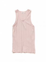 Dweller Tank Top Cotton RIib Overdyed