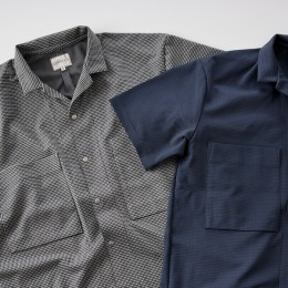 CURLY - Prospect SS Gingham Shirts