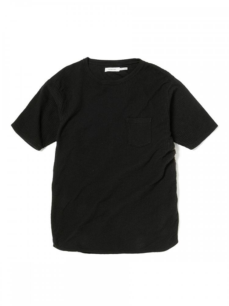 nonnative - Dweller S/S Tee Cotton Waffle Overdyed