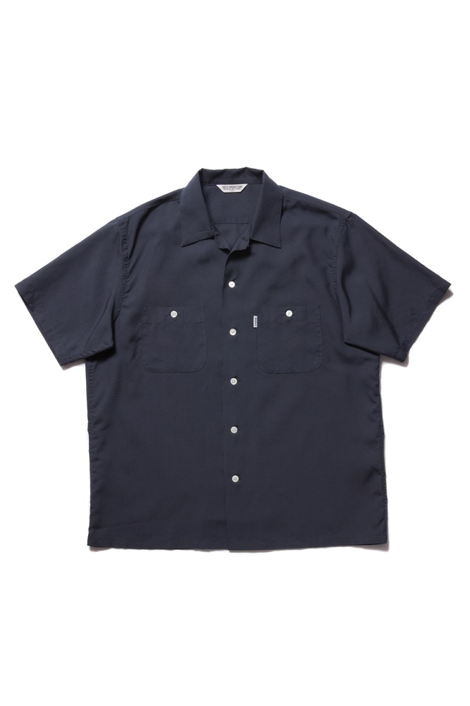COOTIE - Rayon Open-Neck S/S Shirt