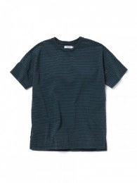 Clerk S/S Tee Cotton Jersey Border