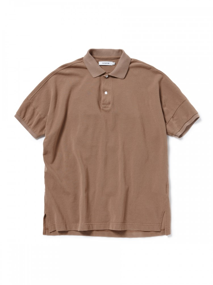 nonnative - Clerk Polo S/S Tee Cotton Pique