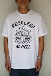 COOTIE - Print S/S Tee (RECKLESS AS HELL)