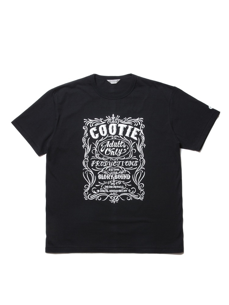 COOTIE - Print S/S Tee (ORNAMENT)