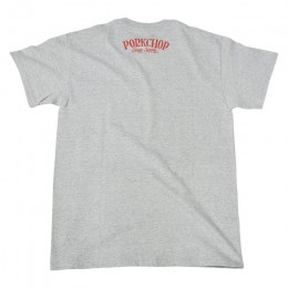 PORKCHOP GARAGE SUPPLY - Pork Front TEE / GRAY