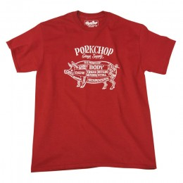Pork Front TEE / RED