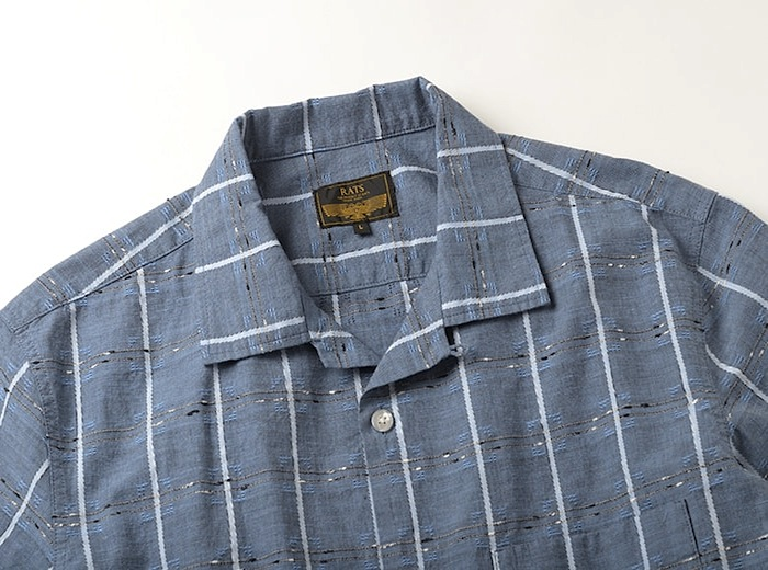 RATS - Pin Check S/S Shirt