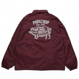 Pork back Coach JKT / MAROON