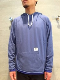 "BEDWIN - L/S Pullover Hooded Tenjiku ""DAVID"""