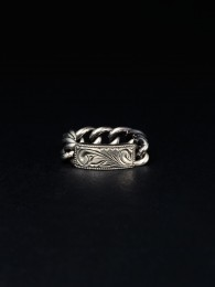 Engraved ID Ring