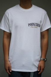 PORKCHOP GARAGE SUPPLY - Pork Back TEE / WHITE