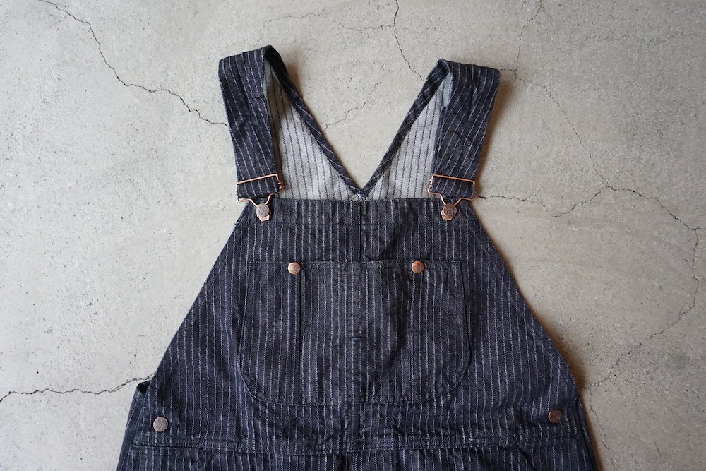 The Stylist Japan - Kaihara Denim Overall