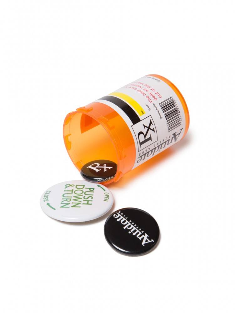 Antidote BUYERS CLUB -  Button Badge Set