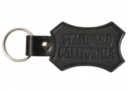 STANDARD CALIFORNIA - BUTTON WORKS x SD Shield Logo Leather Key Holder