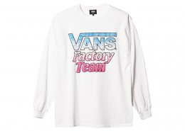STANDARD CALIFORNIA - VANS x SD Factory Team Splash Logo LS