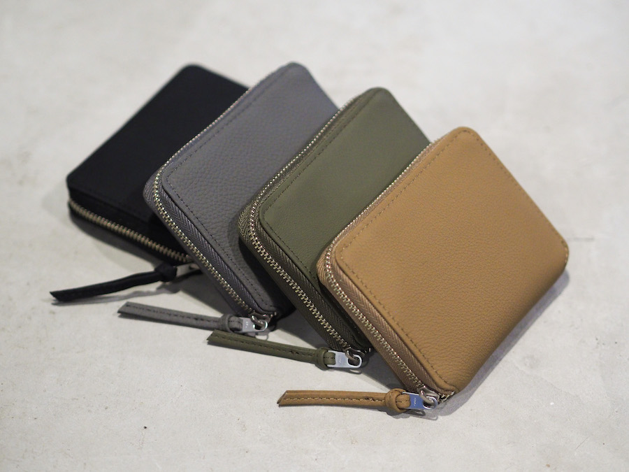ERA. - Bubble Calf Round Palm Wallet