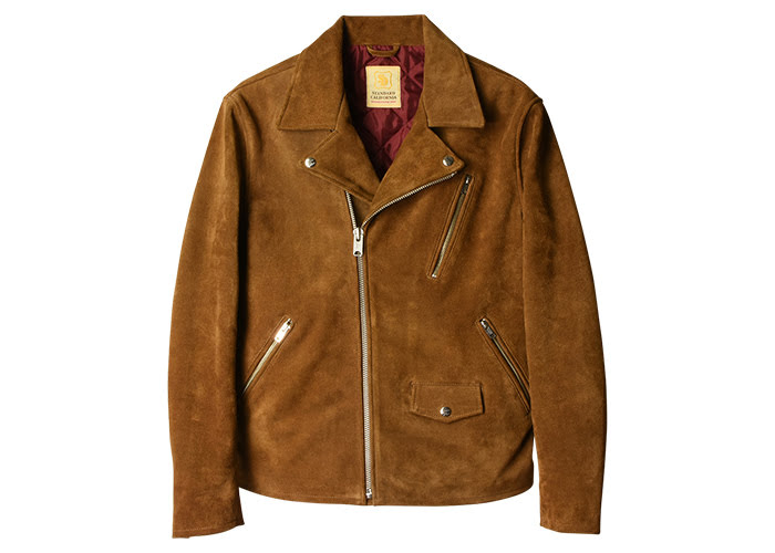 STANDARD CALIFORNIA - SD Cow Suede Double Riders Jacket