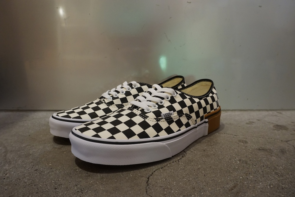 VANS - Authentic Gum Block Checkerboard
