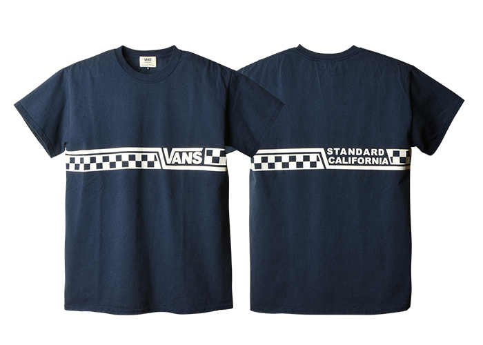 STANDARD CALIFORNIA - VANS x SD Checker Logo T
