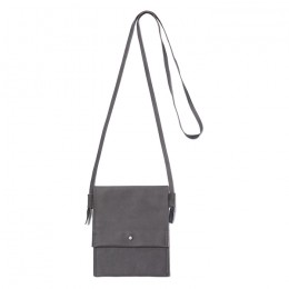 Cow Leather Neck Pouch M